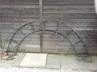 Solid Steel Garden Arch for Sale