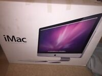 """Apple iMac A1312 27"""" Desktop - (Late 2009), SUPER FAST with new solid state HD"""