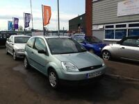 2003 FORD FIESTA FINESSE 1.3 3 DOOR IDEAL FIRST CAR 12 MONTHS MOT 3 MONTHS WARRANTY