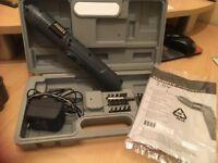 NuTool Handy Power 3.6v Cordless Screwdriver Set + Carry Case