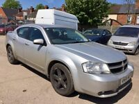 Dodge Avenger 2.0 CRD SXT 4dr£799 starts and drives 2008 (58 reg), Saloon