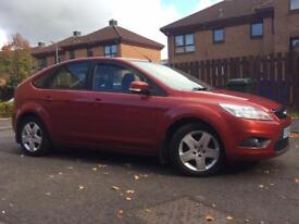08 FORD FOCUS 1.6 TDCI 34000 MILES, FULL SERVICE HISTORY,
