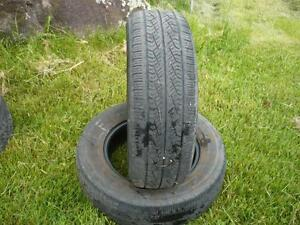 Two Yohohama Avid  tires 225-65-16   $70.00