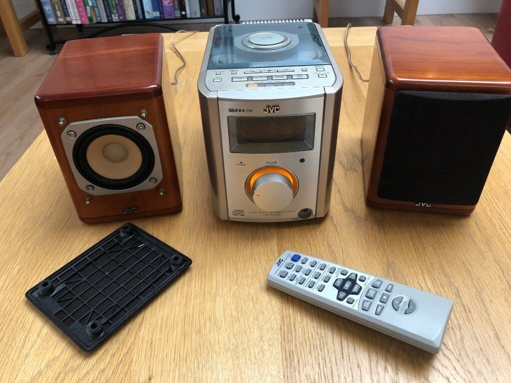 JVC UX-7000R Micro Hifi Music System with CD and Radio