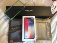 iPhone 10 64gb unlocked space grey boxed and Apple Watch series 3