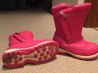 Kids Lands' End Snow Boots (Size 11)