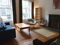 Both rooms available in traditional 2-bedroom west-end flat Hillhead G12