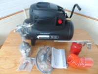 SIP AIRMATE HURRICANE 25 COMPRESSOR C/W KIT, SPECIAL PACKAGE