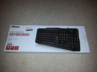 PC Keyboard UK English QWERTY Black