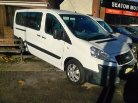 FIAT SCUDO 2.0 120 JTD WITH WHEELCHAIR ACCESS CONVERSION