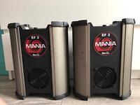 Martin EF3 x2 disco lights