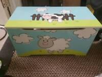 Boys toy box