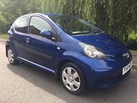 TOYOTA AYGO BLUE VVT-1 LOW MILEAGE 1 OWNER FULL MOT FIRST TO SEE WILL BUY