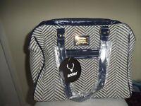 Antler Brand new handbag and Grey fluffy backpack