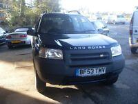 2003 (53) Land Rover Freelander TD4 Diesel £1895
