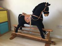 Large Mamas and Papas Rocking Horse