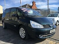 RENAULT ESPACE 2.0 DYNAMIQUE DCI 7 SEATER 171HP,06 PLATE 2006....FACELIFT MODEL....F.S.H...DIESEL...