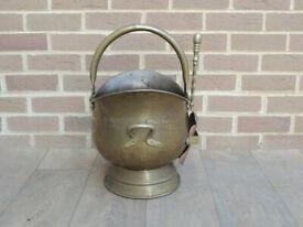Brass Coal Bucket (UK Delivery)