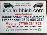 Rubbish Removal 07790 384 702 Waste Clearance Junk Collection in Kingston upon Thames
