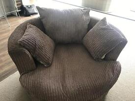 Large swivel chair DFS