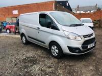 Ford transit custom trend 2.2 14 reg no vat 1 year mot very clean finance available