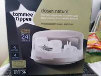 Tommee tippee steam microwave steriliser