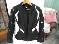 Ladies Motorcycle Jacket & Trousers - Size 12
