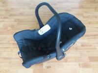 Joie Juva Classic 0+ Car Seat - Black Ink £12