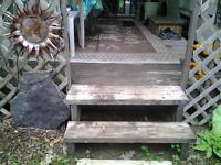 MOVING     selling a Patio Deck