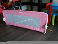 Tomy pink safety bed guard