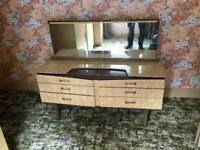 Vintage beautility dressing table