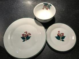 Festive Plates and Bowls for Christmas