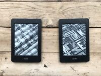 Amazon Kindle Paperwhite with a free case