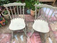 2 chairs suitable for project