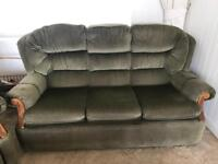 Free!!! Sofas, armchairs and footstool