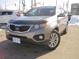2011 KIA SORENTO EX | Leather • Loaded • V6