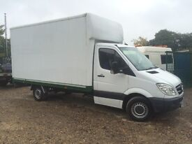 MERCEDES SPRINTER 313 LWB BOX VAN 124000 MILES SERVICE HISTORY MOT £4850 + VAT REDUCED CALL!!!