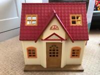 Sylvanian Families Cosy Cottage. Great condition.