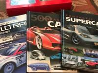Car books and dvd