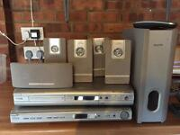Philips surround sound and DVD recorder