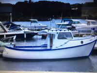 IP Marine 24 Motor Boat Fishing Boat 1984 FULL UPGRADE with New Diesel Engine & All Mechanics