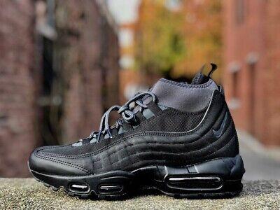 Nike Air Max 95 Sneakerboot Black 806809 001 Size UK 7 Eu 41
