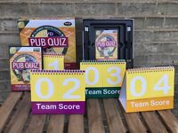 Play Pub Quiz from the comfort of your living room! DVD Pub Quiz- Wise Owl Edition.