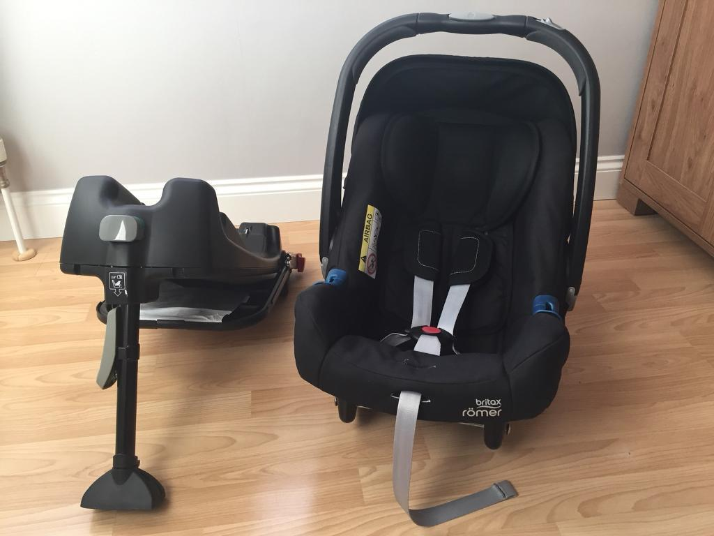 britax romer baby safe plus shr ii group 0 child car seat and isofix base in plymouth devon. Black Bedroom Furniture Sets. Home Design Ideas