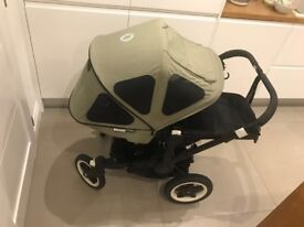 Bugaboo Donkey Breezy Seat Liner and Sun Canopy