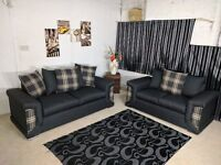 JUST £349! BRAND NEW ELEGANT CHELSEA (3+2) SOFA SET OR CORNER SOFA ON SPECIAL OFFER