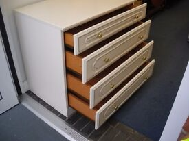 WHITE CHEST OF DRAWERS - NEW LOWER PRICE