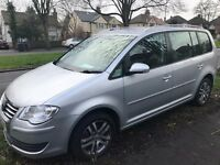 VW TOURAN FACELIFT MODEL - NEW FLYWHEEL & CLUTCH - RECENT FULL SERVICE - 7 SEATER - PARROT SYS