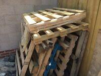 pallets to make furniture kindling fire wood
