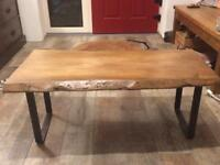 Irish beech coffee table
